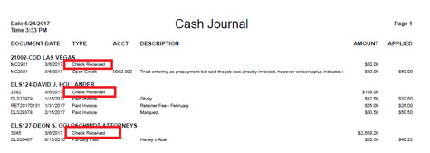 cash journal 1